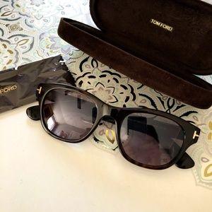 7158975a2080c Tom Ford Accessories - Tom Ford O Keefe Sunglasses Dark Havana Violet